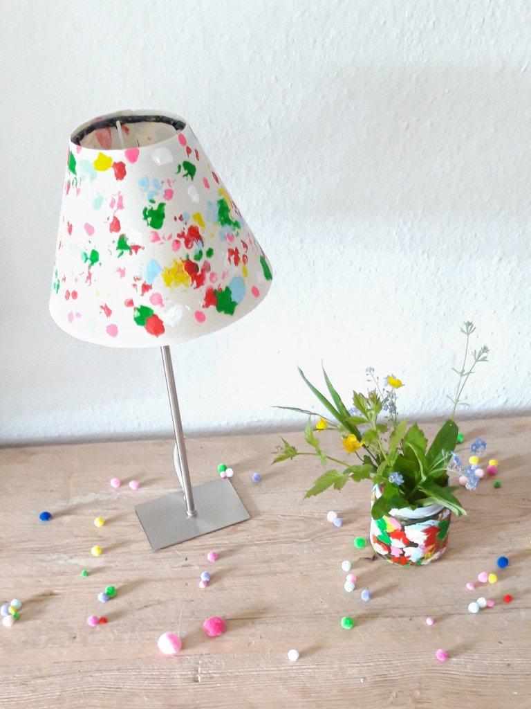 Lampenschirm selbstgemacht