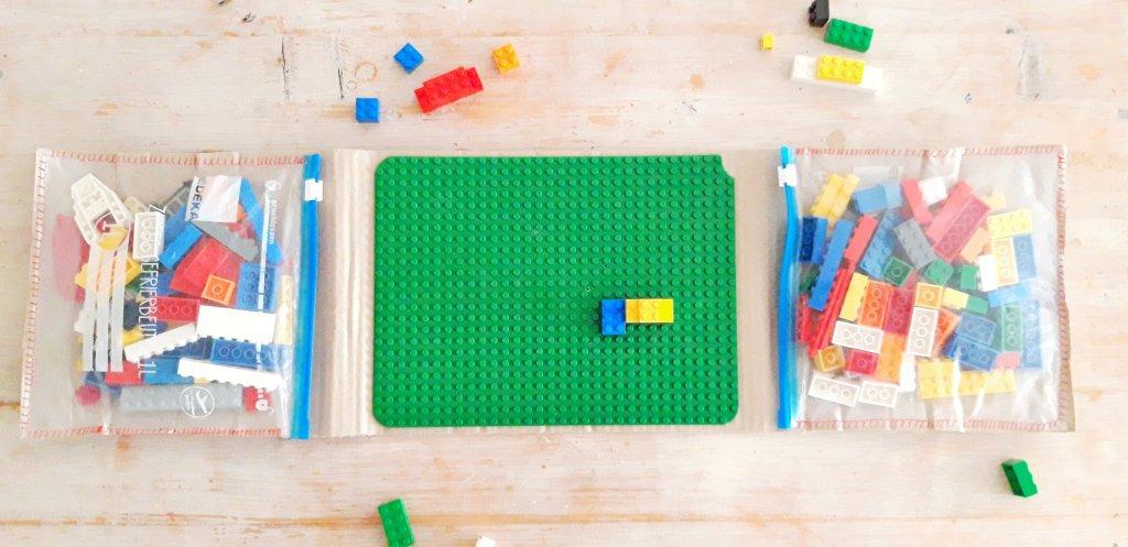 Legosteine zum Reisen