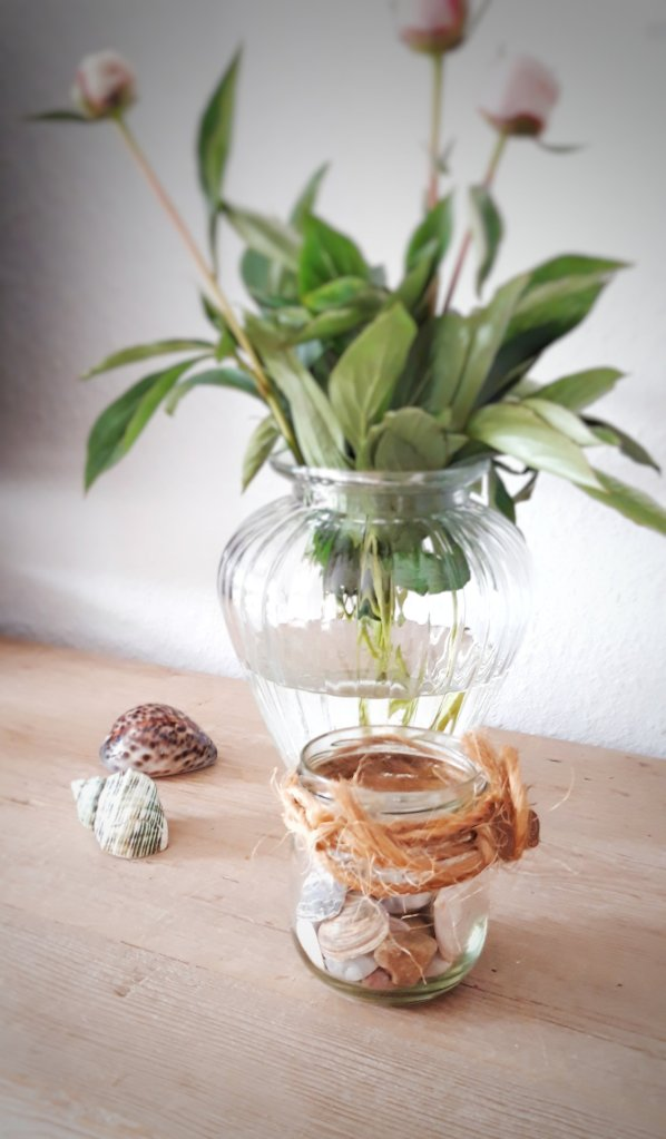Upcycling Einmachglas DIY Idee