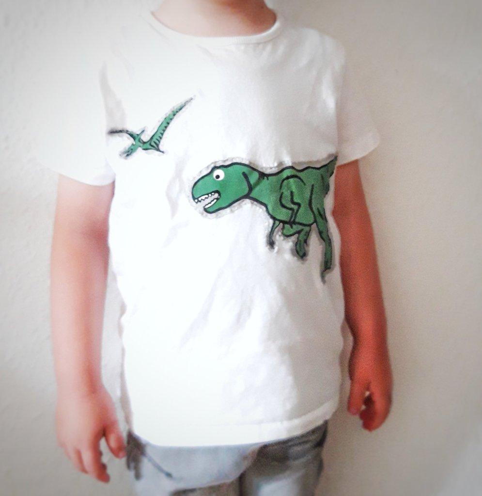 Kinder T-shirt aus altem T-shirt